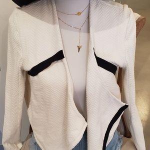 Cotton blazer from Anthropologie